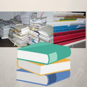 Karton Dokumentenaufbewahrung - mögliche Inhalte