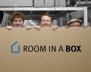 Room in a Box - Möbel aus Pappe