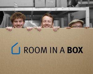 Room in a Box - Möbel aus Pappe