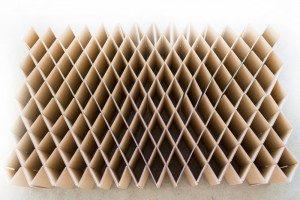 Faltbares Bett - Möbel aus Pappe