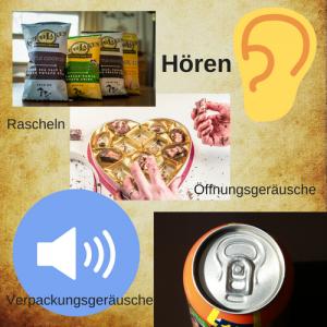 Verpackung als Kommunikationsmittel-Hören